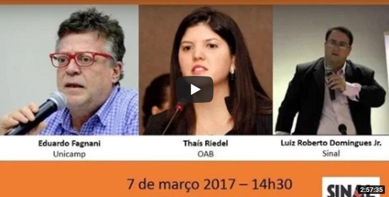 Debatendo a reforma da previdência | 7.3.2017
