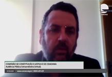 Reforma administrativa: presidente do Sinal participa de audiência pública